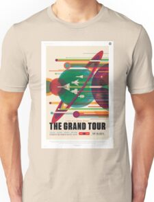 Retro NASA Space Poster - The Grand Tour Unisex T-Shirt