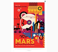 Mars - NASA Travel Poster Unisex T-Shirt