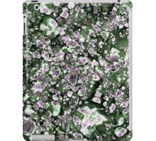 Purple and Green Abstract iPad Case/Skin