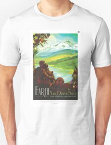Earth - NASA Travel Poster Unisex T-Shirt
