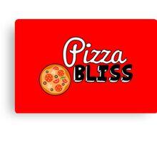 Pizza Bliss Canvas Print