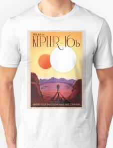 Retro NASA Space Poster -Kepler Unisex T-Shirt