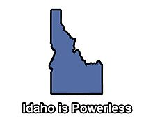 Idaho is Powerless by un-oiseau
