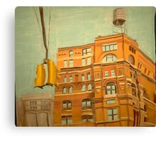 Franklin St. Traffic Light Canvas Print