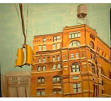 Franklin St. Traffic Light Photographic Print