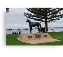 Makybe Diva - 3 times winner of the Melbourne Cup Canvas Print