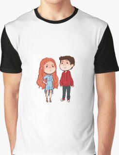 Teen Wolf Stiles Stilinksi and Lydia Martin Stydia Graphic T-Shirt
