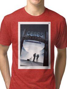 Ceres - NASA Travel Poster Tri-blend T-Shirt