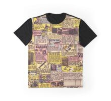 Comic Book Ads Graphic T-Shirt