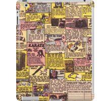 Comic Book Ads iPad Case/Skin