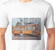 Orange Streetcar, San Francisco Unisex T-Shirt