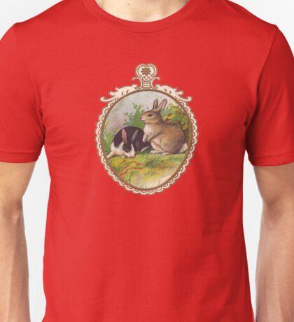 Vintage Easter Bunnies Unisex T-Shirt