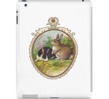 Vintage Easter Bunnies iPad Case/Skin