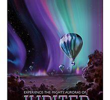 Jupiter - NASA Travel Poster by maslowsky
