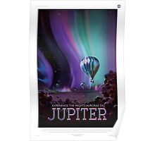 Jupiter - NASA Travel Poster Poster