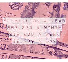 "Million Dollar Year ""Sorbet"" by seeyouatthebank"