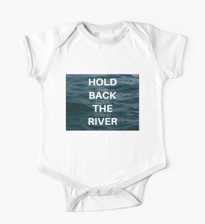 Hold Back One Piece - Short Sleeve