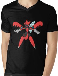 Pokemon- Mega Scizor Mens V-Neck T-Shirt