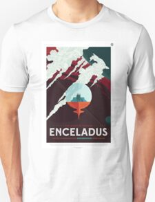 Enceladus - NASA Travel Poster Unisex T-Shirt