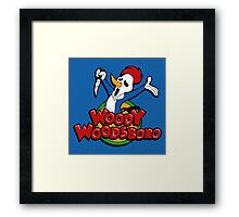 Not your cartoon character Framed Print