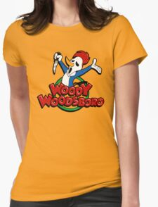 Not your cartoon character Womens Fitted T-Shirt