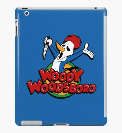 Not your cartoon character iPad Case/Skin