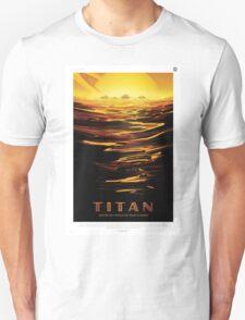 Titan - NASA Travel Poster Unisex T-Shirt
