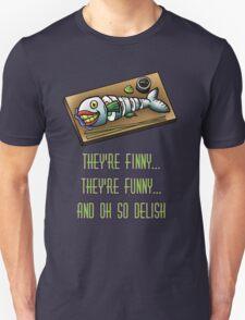 Laughing Fish Sushi T-Shirt