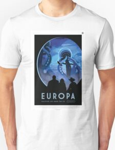 Europa - NASA Travel Poster T-Shirt