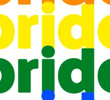 LGBTQ Pride (rainbow on white background) Sticker
