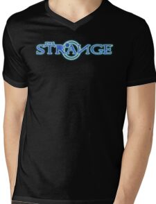 The Strange Colored Logo-Unisex T-Shirts Mens V-Neck T-Shirt