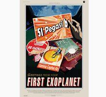 51 Pegasi b - NASA Travel Poster Unisex T-Shirt
