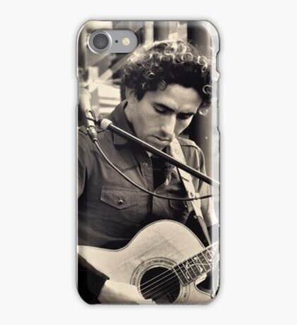 The Street Minstrel iPhone Case/Skin