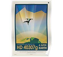 HD 40307g - NASA Travel Poster Poster