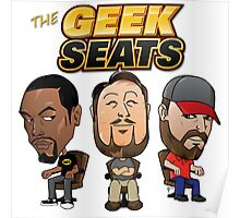 The Geeks Seats Poster