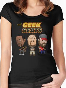 The Geeks Seats Women's Fitted Scoop T-Shirt