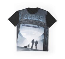 Retro NASA Space Poster - Ceres Graphic T-Shirt