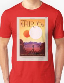 Kepler 16-b - NASA Travel Poster Unisex T-Shirt