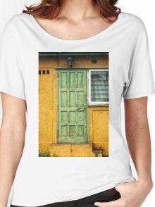 The Green Door Women's Relaxed Fit T-Shirt