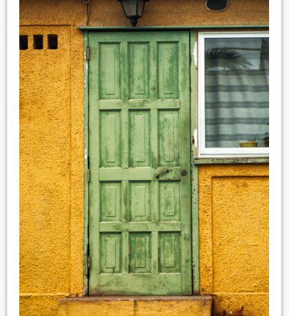 The Green Door Sticker