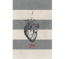 I heart you Photographic Print