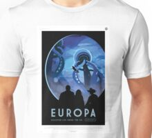 Europa: Discover Life Under the Ice Unisex T-Shirt