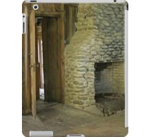Stoned Fireplace iPad Case/Skin