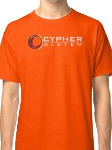 Cypher System Logo White-Unisex T-Shirts Classic T-Shirt