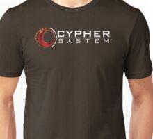 Cypher System Logo White-Unisex T-Shirts Unisex T-Shirt
