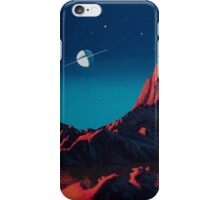 Space art landscape: Loneliness iPhone Case/Skin