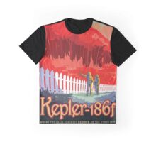 Retro NASA Space Poster - Kepler Graphic T-Shirt