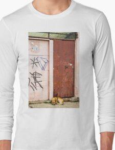 The Dog's Door Long Sleeve T-Shirt