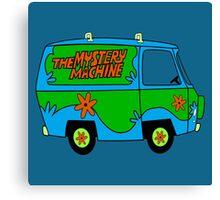 THE MYSTERY MACHINE : CLASSIC CAR Canvas Print
