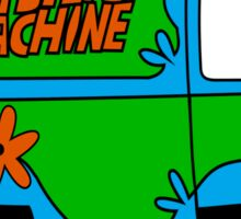 THE MYSTERY MACHINE : CLASSIC CAR Sticker